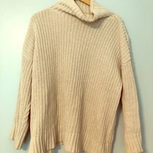 Cowl neck oversized Aerie sweater
